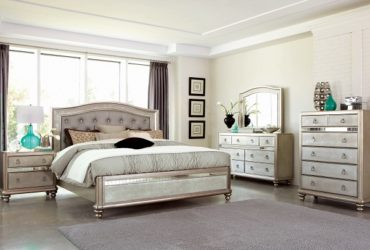 King Bed, 1 Night Stand, Mirror and Dresser
